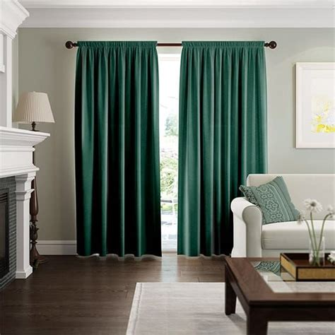 fine velvet forest green curtains   green curtains
