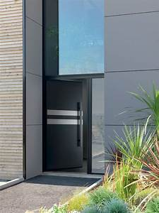 porte d entree contemporaine dootdadoocom idees de With porte d entrée alu avec applique miroir salle de bain alinea
