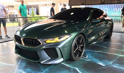 design analysis 2018 bmw m8 concept grancoupe goodwood