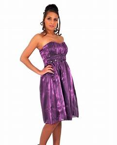robe de soiree robe cocktail en satin mauve avec perle With robe de cocktail combiné avec bracelet montre cardio