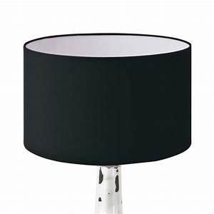 Lampenschirm 40 Cm : lampenschirm schwarz rund 25 x 15 cm online shop direkt vom hersteller ~ Pilothousefishingboats.com Haus und Dekorationen