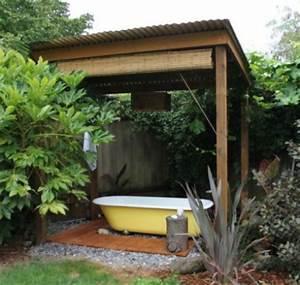 Badewanne Outdoor Garten : entspannende badewanne im garten genie en ~ Sanjose-hotels-ca.com Haus und Dekorationen