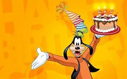 Birthday Goofy Disney Happy Celebrate Wallpapers13 Resolution
