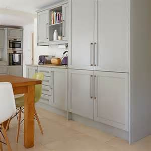 Grey Kitchens with Shaker Cabinets