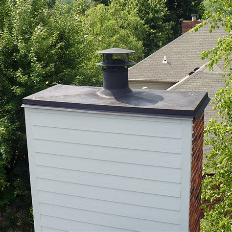 fireplace chimney cap what about that chimney that penetrates through your roof