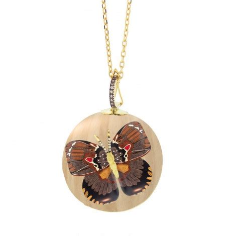 butterfly marquetry necklace marquetry butterfly pendants