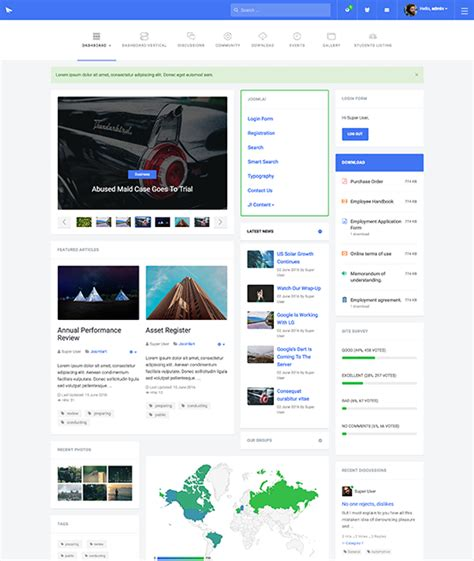 Best Joomla 2 5 Templates Free Download by Download Free Software Free Joomla Community Template