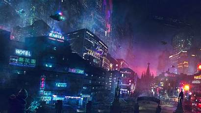 Cyberpunk Artwork Resolution