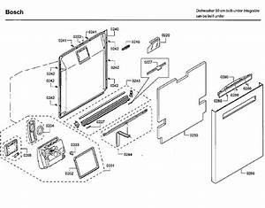 Bosch Shp65tl5uc  09 Dishwasher Parts