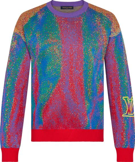 louis vuitton multicolor infared sweater incorporated style