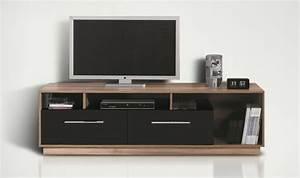 Meuble Tv Bois Pas Cher : meuble tv bas design discount ~ Teatrodelosmanantiales.com Idées de Décoration