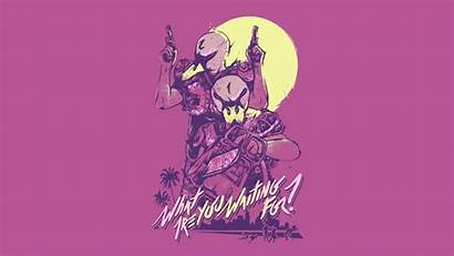 Hotline Miami Wallpapers Background Jacket Number Gaming