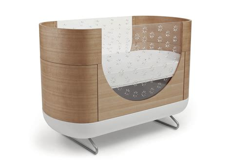 Twin Adjustable Bed by 16 Beautiful Oval Amp Round Baby Cribs For Unique Nursery