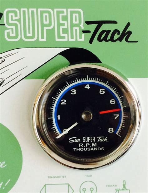 Nos Shelby Vintage Sun Super Tach Sst Rpm Nib
