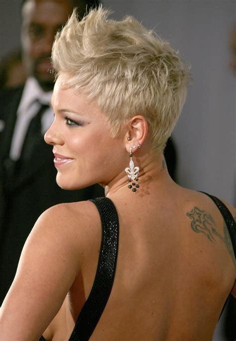 Pink The Singer Hairstyles Fade Haircut
