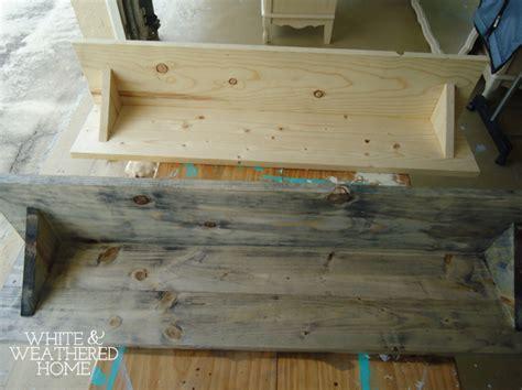 how to make driftwood furniture diy driftwood weathered grey wood finish tutorial hometalk