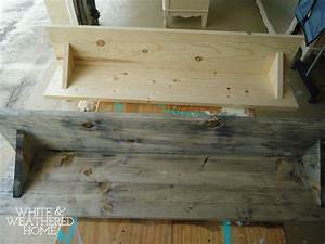 diy driftwood weathered grey wood finish tutorial hometalk With kitchen colors with white cabinets with driftwood fish wall art