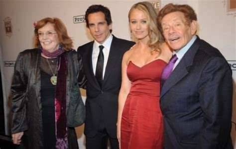 ben stiller family siblings parents children wife