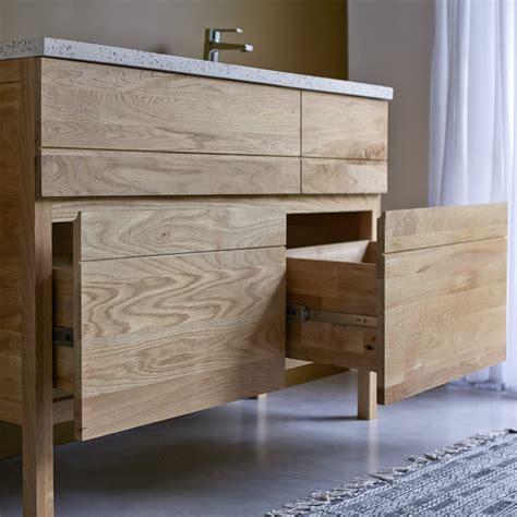 meuble de chambre de bain meuble en chne et vasques rsine easy duo vente meubles