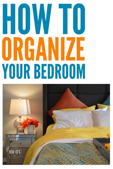 Organized Bedroom by How To Organize Your Bedroom How To S 174