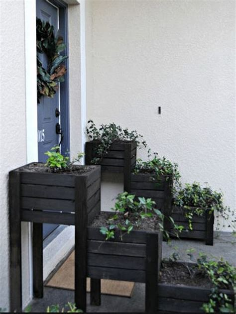 recycled wooden pallet plantersjpg  yard