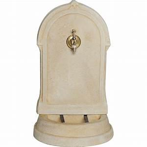 Fontaine D Exterieur En Pierre : fontaine de jardin en pierre reconstitu e ton pierre aliz ~ Premium-room.com Idées de Décoration