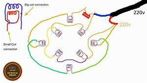 Rewinding A Dryer Motor Part 3 Connections With Diagram