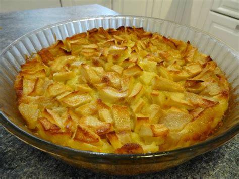 cuisine clafoutis aux pommes clafoutis aux pommes la cuisine de nelly