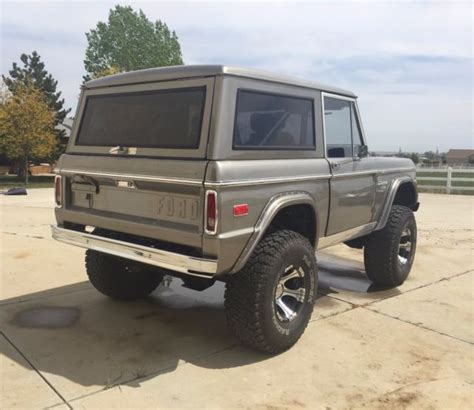 1973 ford bronco ranger for sale ford bronco 1973 for sale in loveland colorado united states