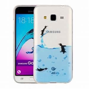 For Samsung Galaxy J3  2016     J310 Lovely Penguins