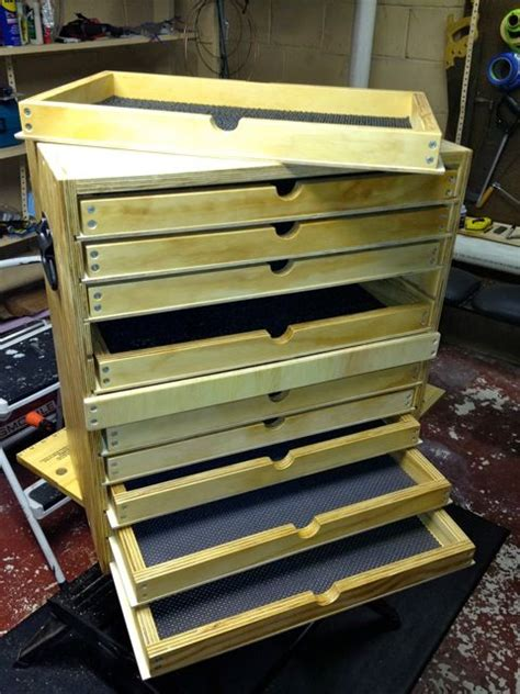 tool chest  trays woodworking talk woodworkers