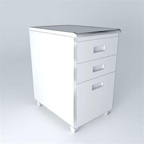 under desk file cabinet under desk file cabinet 3d model max obj 3ds fbx stl dae