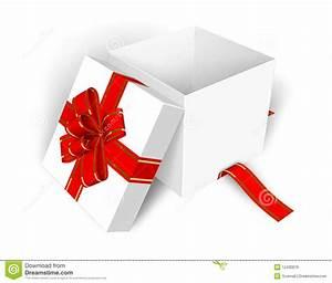 Empty Opened Gift Box Royalty Free Stock Image