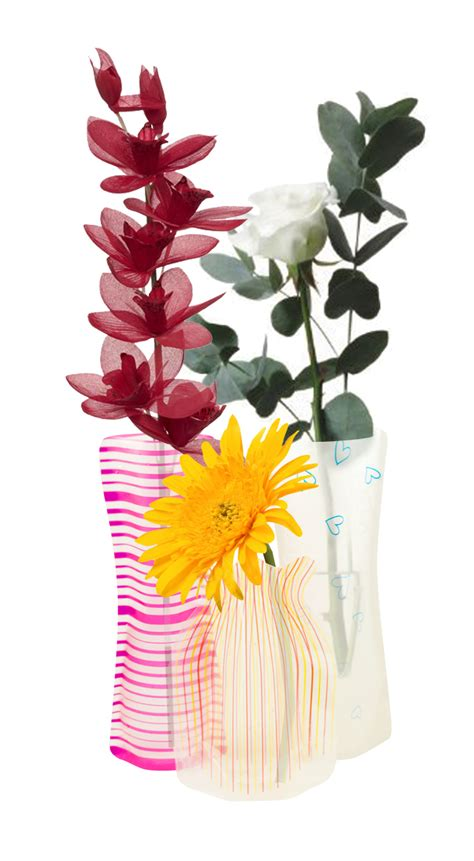 collapsible flower vase collapsible vase for bunch flowers reusable stores flat