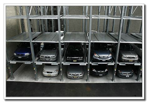 3200kg Heavy Duty 3 Floors Stacker Parking Lift Car