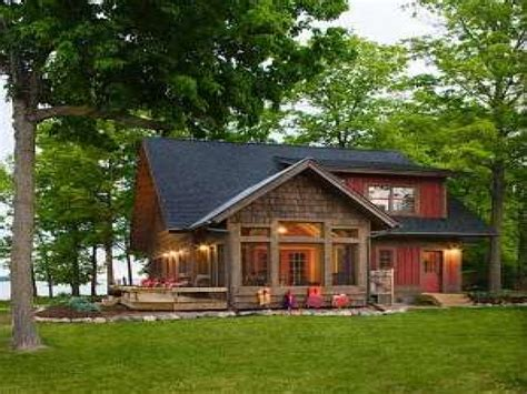 small lake house floor plans