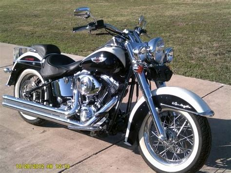 17 Best Images About Harley Davidson Softail Deluxe On