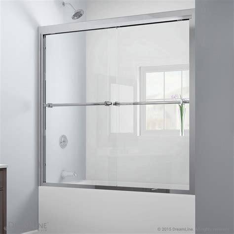 pass tub duet bypass sliding tub door