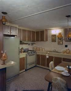 Mobile Home Interior Florida Memory Interior View Showing A Mobile Home Kitchen Tallahassee Florida