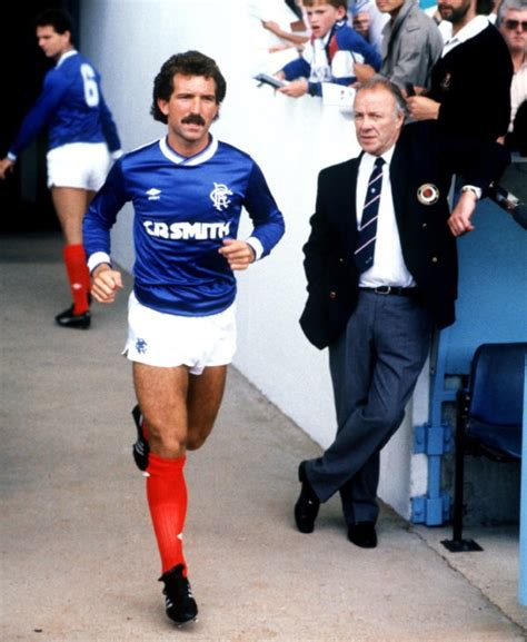 retro football gif graeme souness plays  majestic