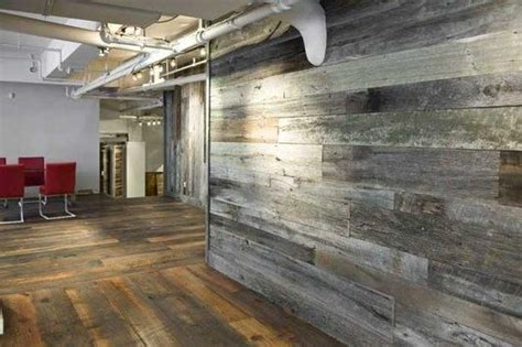 antique barn wood siding created  cool reclaimed wall