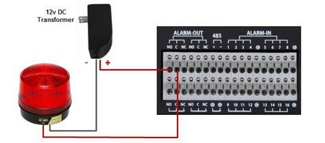 dvr alarm output setup viewtron cctv surveillance dvrs