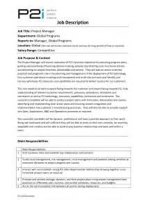 construction project manager description for resume 12 project manager description recentresumes