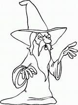 Coloring Beard Merlin Beards Wizard Bulkcolor Bulk Grey sketch template