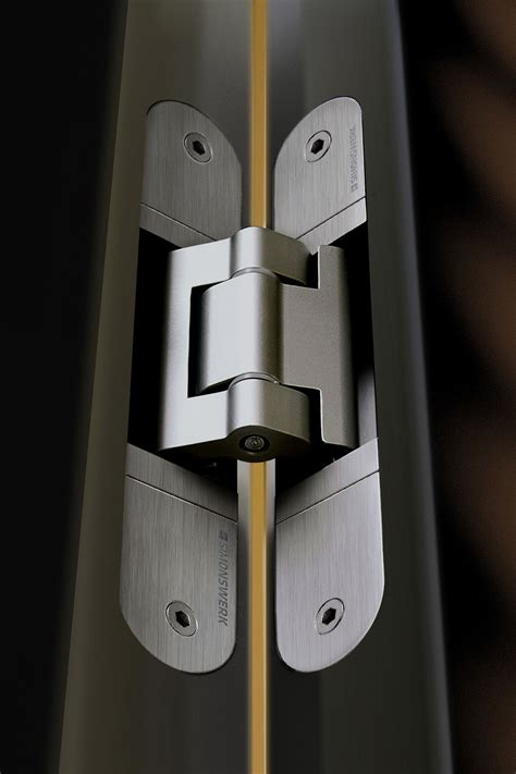 Concealed Hinge Example Contemporary Door Hardware