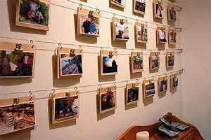 Ideen Fotos Aufhängen : fotowand zu hause gestalten tipps und 25 kreative ideen diy und selbermachen fotowand ~ Yasmunasinghe.com Haus und Dekorationen