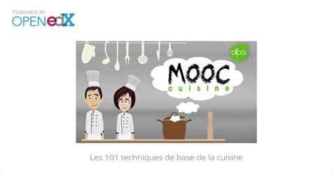 cours de cuisine chef étoilé mooc les 101 techniques de base de la cuisine mooc