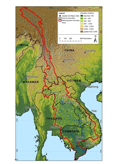 mekong flows city  water