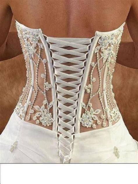 wedding nail designs corset  weddbook