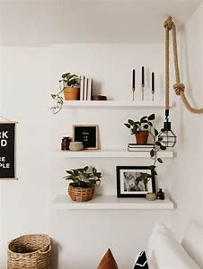 Simple, Decorations, To, Put, On, Floating, Shelves